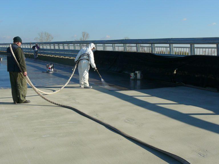 híd szigetelés, sókorrózió elleni védelem