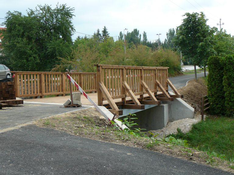 kerékpárhíd híd építés