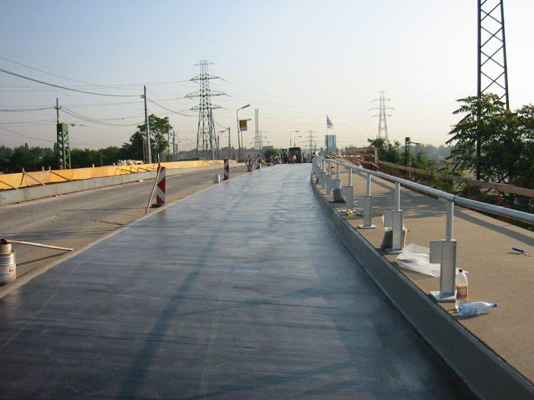hídfelújítás, szigetelés
